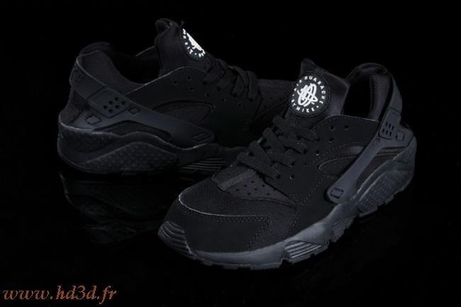 Basket Huarache Femme Noir