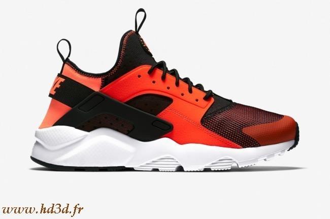 Nike Huarache Grise Et Orange hd3d
