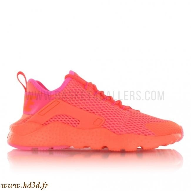 Nike Huarache Orange Fluo