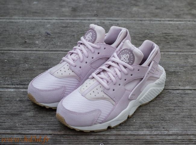 super cute 65db0 d4659 Nike Huarache Mauve Clair