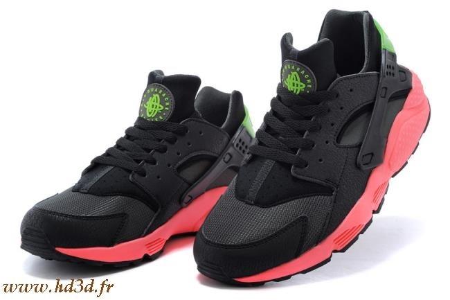 check out 06527 08523 Nike Air Huarache Rouge Et Noir