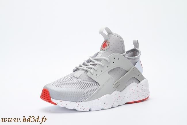 Nike Huarache Rouge Et Gris hd3d