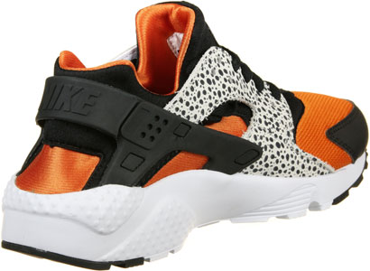 Huarache Orange Noir