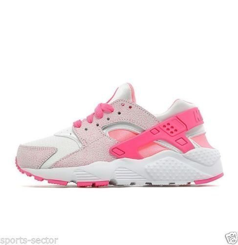 low priced f0582 1ffcd Huarache Rose Bebe