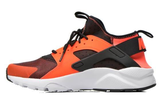 best service deb03 df9e5 Nike Huarache Noir Et Orange