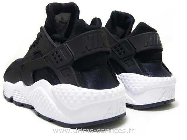 6ff09c392d2 Nike Huarache Noir Blanche hd3d.fr