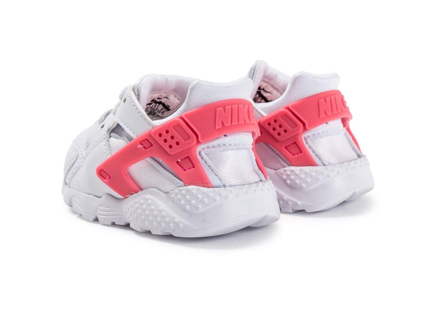sneakers for cheap 0a318 43b3b Nike Huarache Blanc Et Rose