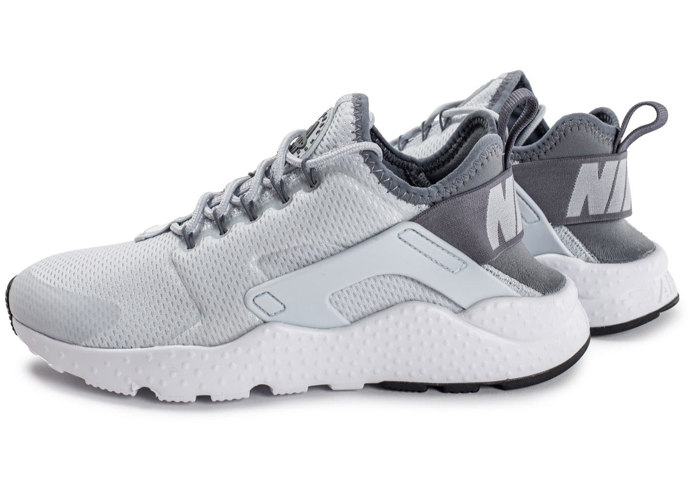 sports shoes f9277 910db Nike Huarache Blanc Gris ...