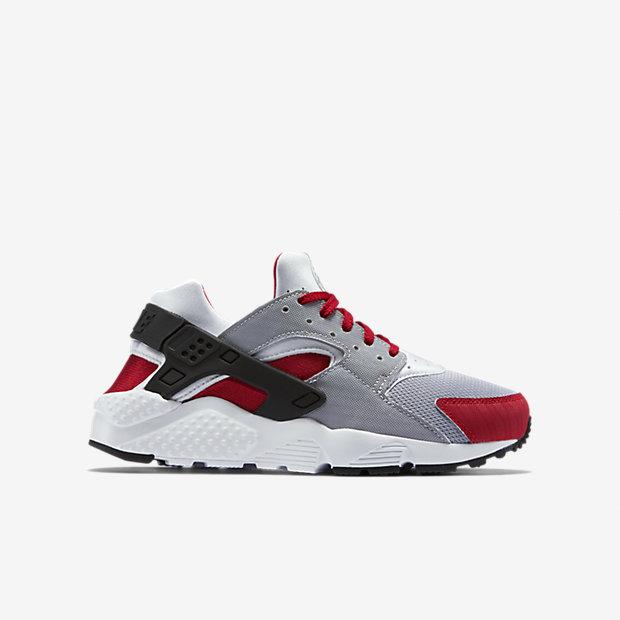 buy popular 04841 f5ebc Nike Huarache Blanc Gris