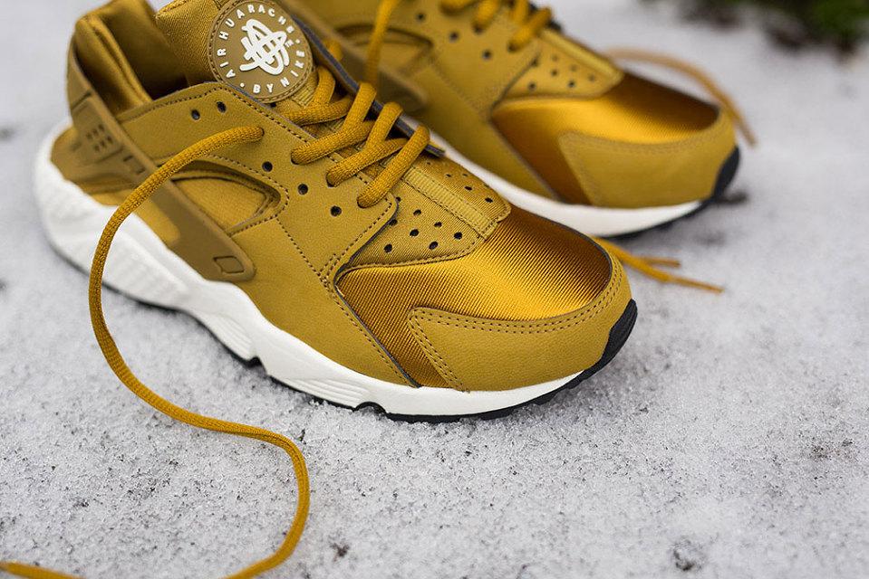Nike Huarache Blanche Et Or hd3d.fr