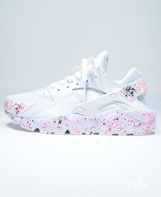 new arrival f6b9f db406 Nike Huarache Blanche Et Or