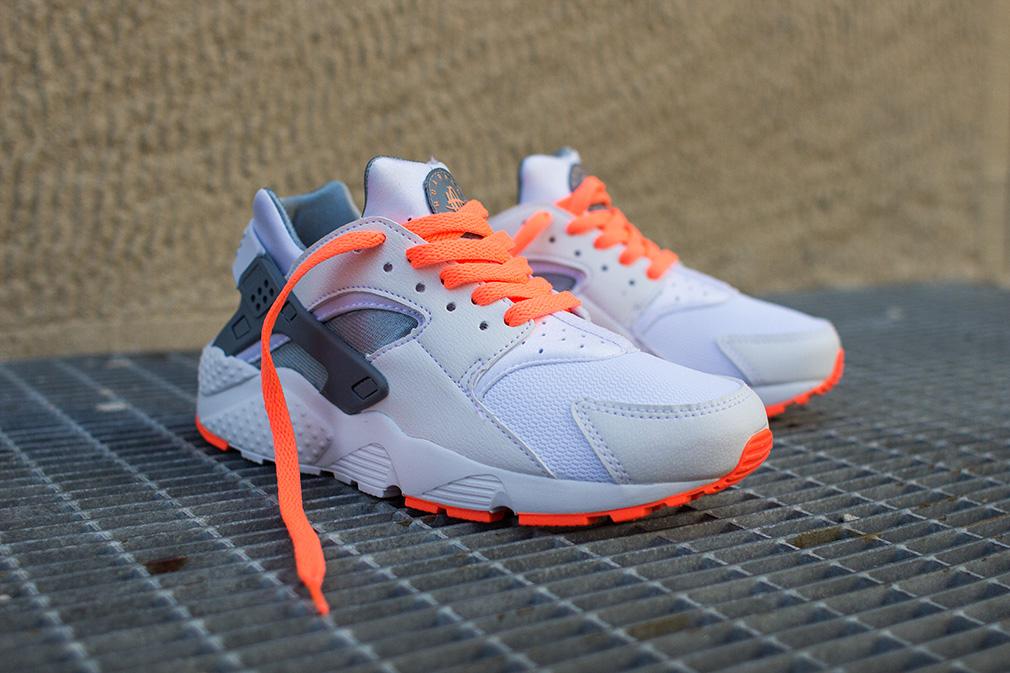 Nike Huarache Gris Et Orange
