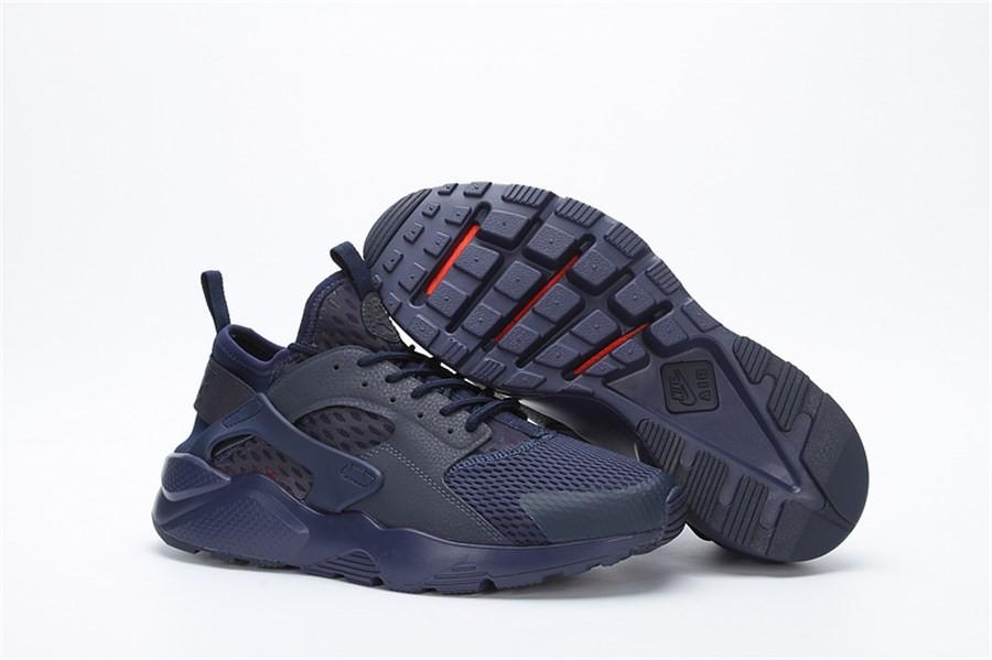 lowest price 796af a587a Nike Huarache Bleu Noir
