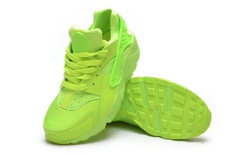 Nike Huarache Vert Fluo