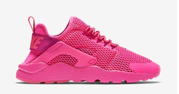 nike air huarache rose fluo