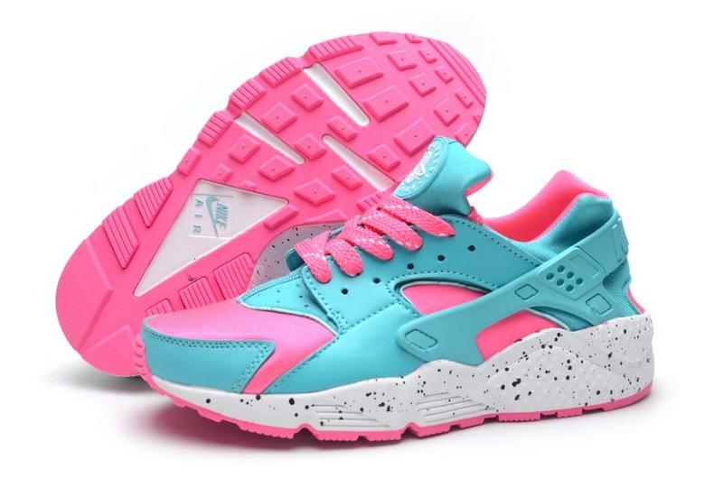 Nike Huarache Violet Et Rose