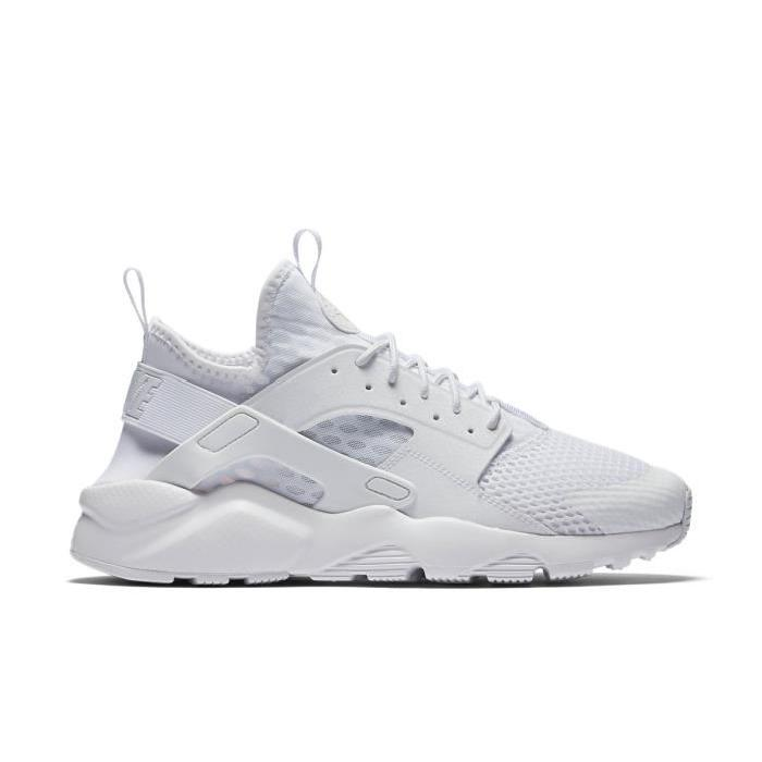 official photos c2298 a8b2a Nike Air Huarache Ultra Blanche