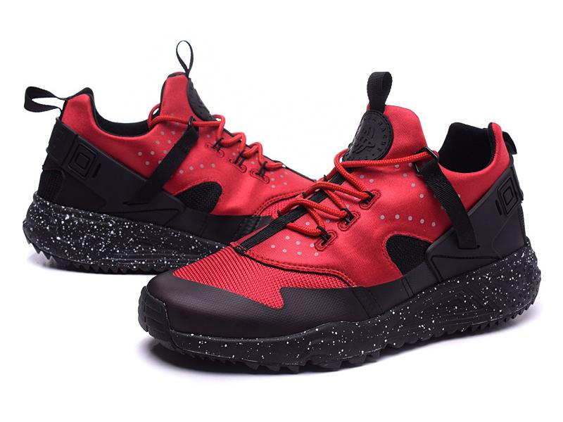 nike huarache homme rouge pas cher