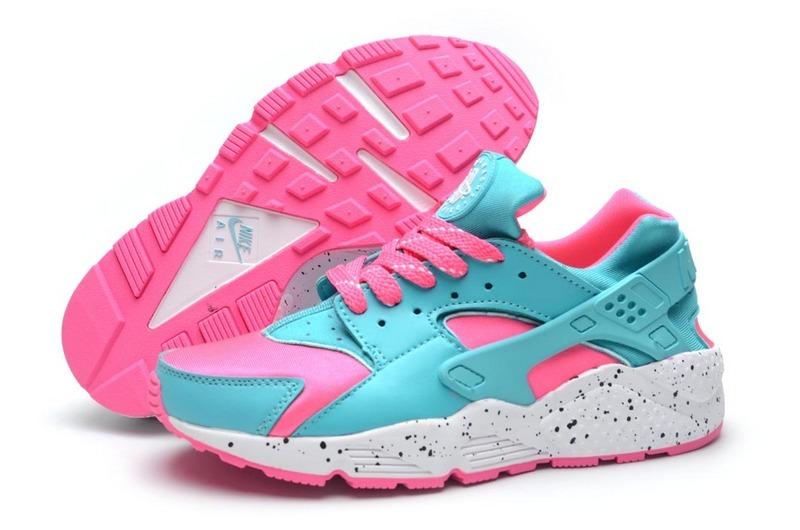 uk availability ebc77 b7295 Nike Huarache Rose Pale Pas Cher