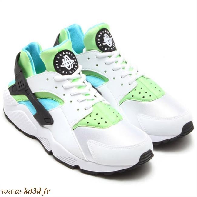plus récent 4f53d f6b98 Nike Huarache Femme Blanche Et Bleu hd3d.fr