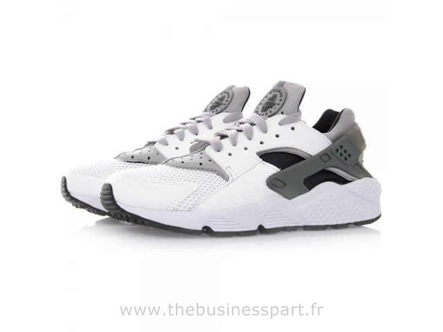 newest 27625 0362a Nike Huarache Noir Grise Et Blanche