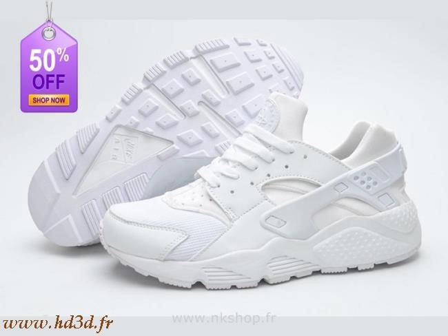 nike huarache blanche pas cher