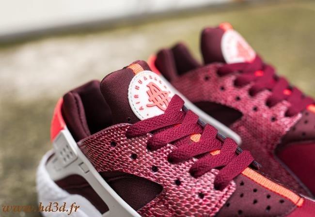 Nike Huarache Femme Rose Clair