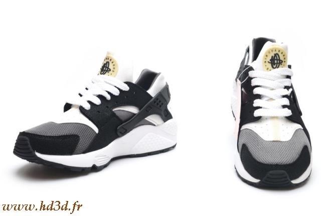 Nike Huarache Femme Noir Et Grise