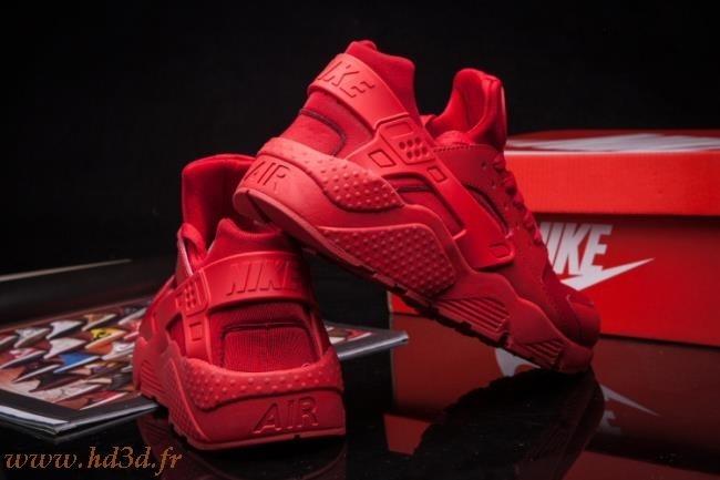 Nike Air Huarache Rouge Femme