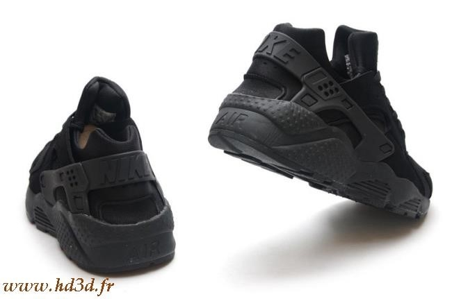 Nike Air Huarache Triple Black Homme
