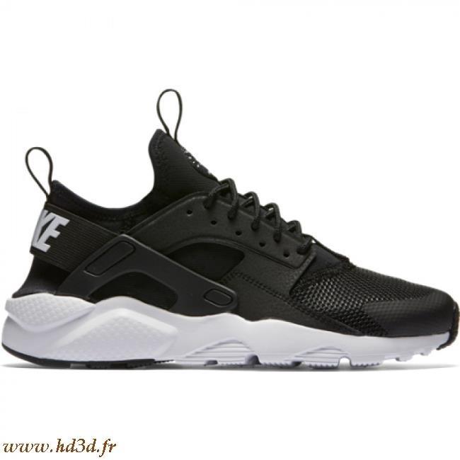 chaussures de sport bc961 7fbbf Nike Air Huarache Blanche Et Noir hd3d.fr